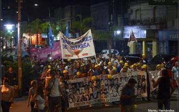 Emotivo acto en Plaza Canal a 42 años del golpe cívico militar