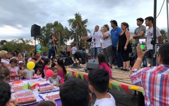 Se realizó un festival para visibilizar los cinco años de obra detenida en la Escuela N° 5