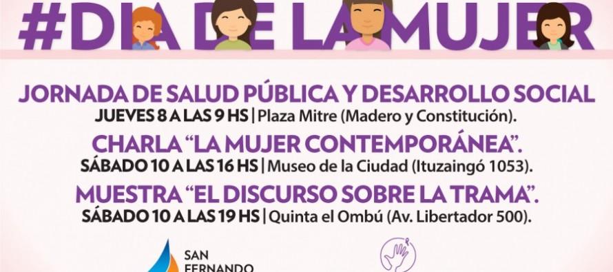 Se conmemora el Día Internacional de la Mujer en nuestra ciudad