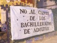 El gobierno provincial dio marcha atrás con el cierre de los bachilleratos de adultos