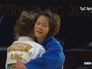 Nuevo podio: Paula Pareto fue medalla de plata en el Grand Slam de Rusia