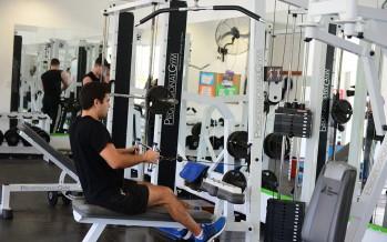 Actividades en el gimnasio del Poli Nº3