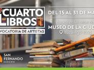 El municipio y la Universidad Nacional de las Artes convocan artistas para la muestra 'Cuarto de Libros'