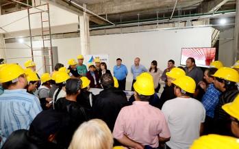Vecinos de nuestra ciudad visitaron la obra del futuro Hospital Municipal