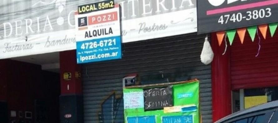 Por la caída de las ventas, cierran locales en los centros comerciales de nuestra ciudad
