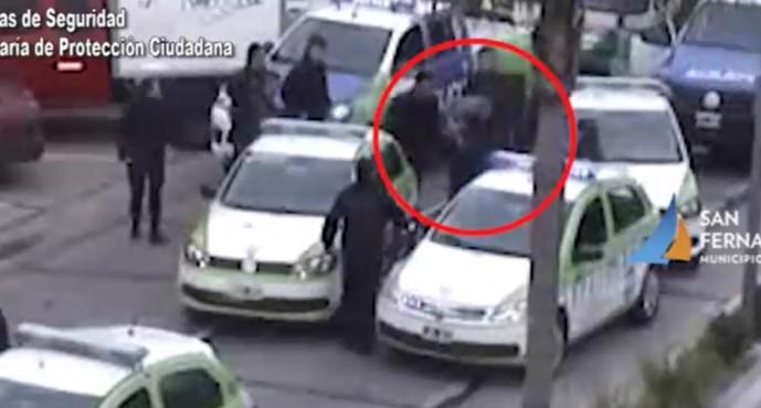 Detuvieron en Virreyes a un hombre que conducía una moto robada, tras cinematográfica persecución