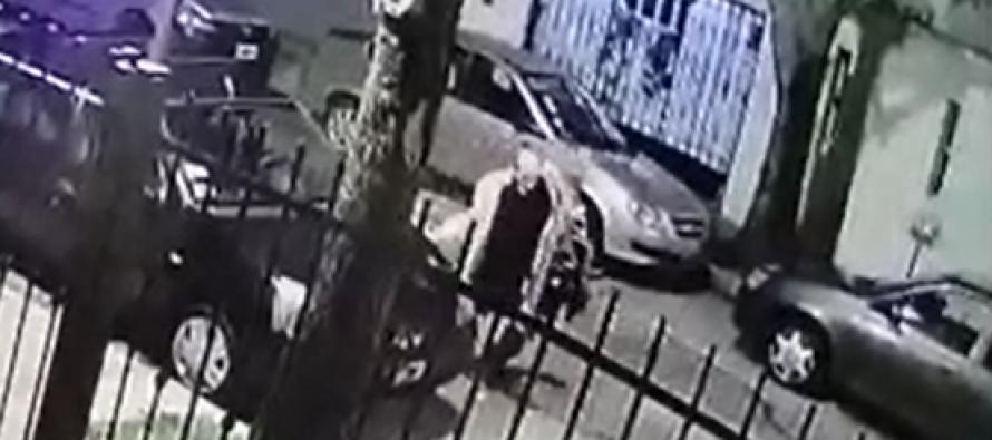 Libertad al 3500: filmado mientras rayaba autos de sus vecinos