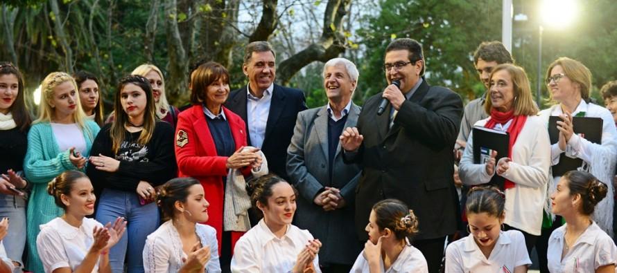 Se celebró el Día del Inmigrante Italiano en la Plaza Mitre