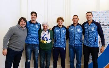 Andreotti recibió a los remeros de nuestra ciudad que obtuvieron medallas en los Juegos ODESUR
