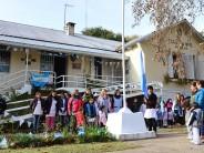 Las Escuelas de nuestro Delta celebraron el Día de la Bandera en Arroyo Pay Carabí