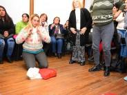 Capacitación sobre reanimación cardiopulmonar en el Museo de la Ciudad