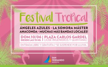 Llega una nueva edición del Festival Tropical en la Plaza Carlos Gardel