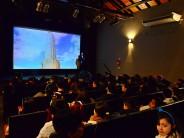 Escuelas de nuestra ciudad asistieron a una obra por el 'Día de la Bandera' en el Teatro Martinelli
