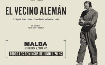"""Se estrena la película """"El Vecino Alemán"""" sobre Adolf Eichmann y su paso por la casa de la calle Garibaldi"""