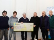 Subsidio de 500 mil pesos a la parroquia de la Pequeña Obra de la Divina Providencia