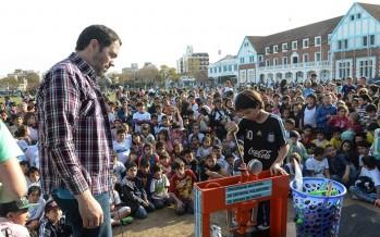 """La campaña """"Armas ni de juguete"""" reunió 1.000 chicos en San Fernando"""