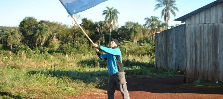 """Franco Vacarezza: """"La travesía fue la excusa para ayudar a las escuelas rurales de Misiones"""""""