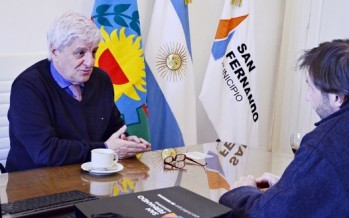 Andreotti firma convenio con el Obispado de San Isidro