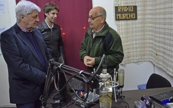 Luis Andreotti, en el 15° aniversario de la Biblioteca Leopoldo Murcho