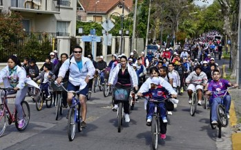 Bicicleteada familiar 2014