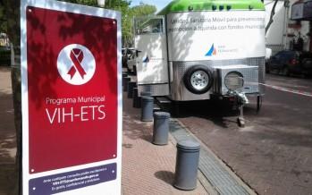 Operativo de prevención y promoción de la salud en Plaza Mitre