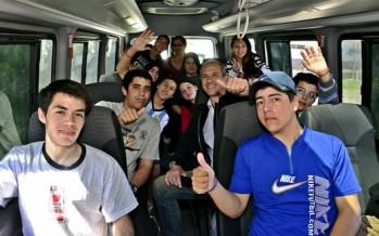 Estudiantes secundarios de la isla Martín García visitan San Fernando