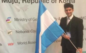 Un joven sanfernandino representó a Argentina en Corea
