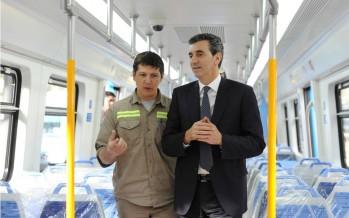 Randazzo visitó Victoria y anunció reformas en la línea Mitre