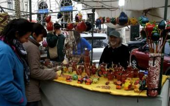 Mucha gente se acercó al Encuentro de Artesanos a pesar del clima