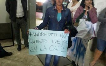 Protestas por desalojos en el barrio San Rafael