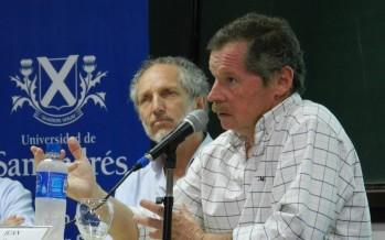 Juan Carr y Boy Olmi brindaron una charla en la Universidad de San Andrés
