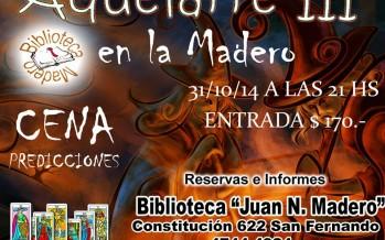 III Aquelarre en la Biblioteca Madero