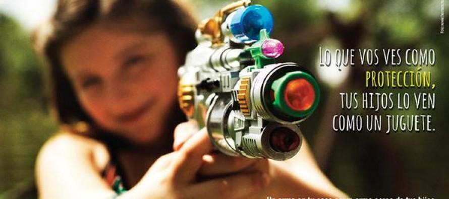El RENAR Y UNICEF lanzan campaña por el desarme