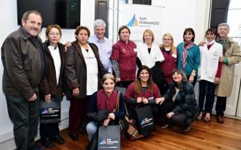 Enfermeras y doctoras de los Centros de Salud reconocidas por el Municipio