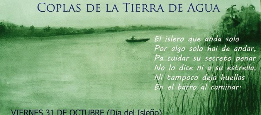 """Presentación de """"Coplas de la tierra de agua"""" de José Beccar Varela"""