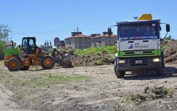 El Municipio mejora 3 grandes terrenos en el barrio San Rafael