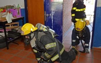 Realizan simulacros de escape de gas en centros de educación de San Fernando