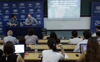 El director de Facebook brindó una charla en la Universidad de San Andrés