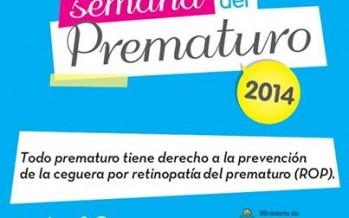 Del 4 al 10 de octubre se celebra la Semana del Prematuro