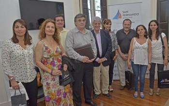 Andreotti reconoció a médicos por campaña de prevención del cáncer
