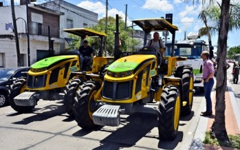 El Municipio incorporó un nuevo tractor de tracción integral