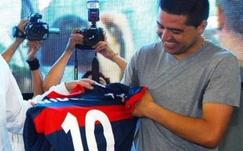 Tigre apuesta fuerte con Riquelme y Montenegro para 2015