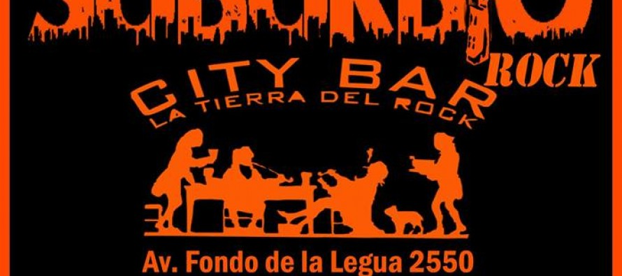 Suburbio Rock comienza el año en el City Bar