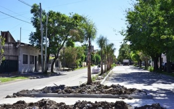Está próximo a finalizarse el Boulevard de Carlos Casares