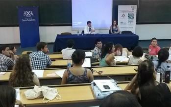 Juan Manuel Abal Medina disertó en la Universidad de San Andrés