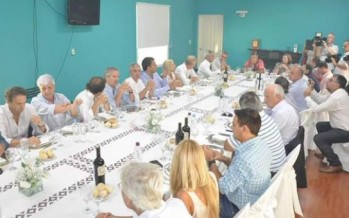 Andreotti participó de la cumbre del Frente Renovador en Junín
