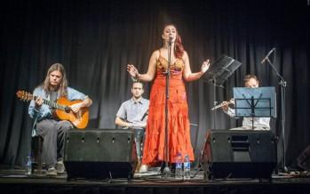 María Bradley presentó su disco en el Museo de la Reconquista