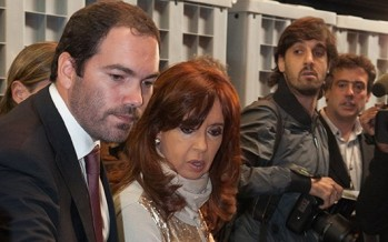 La presidenta, junto a Matías Molle, inauguró el Banco Nacional de Materiales Controlados del Registro Nacional de Armas