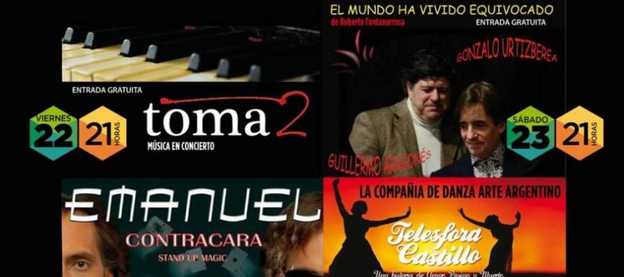 """""""Telésfora Castillo, una historia de amor, pasión y muerte"""" en el Teatro Martinelli"""
