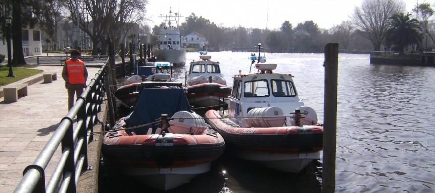 Prefectura rescató un cuerpo sin vida en el Río Espera
